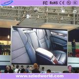 Écran visuel polychrome de /Indoor DEL d'Afficheur LED fixe mince (panneau de vente chaud)