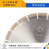 La circular asoleada del diamante del disco vio la lámina para el corte de piedra del mármol del granito