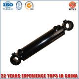 Único cilindro hidráulico de cromagem de Rod de pistão para o equipamento agrícola