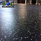 Rullo di gomma della stuoia del pavimento dell'anti di slittamento di forma fisica randello di ginnastica