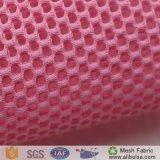 A1615 100d 30d 200d靴甲革材料のための編むサンドイッチ網との100%年のポリエステルヤードのカウント