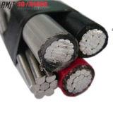 Conduttore cavo neutro di ABC del duplex di goccia di servizio di ACSR o di AAAC isolato XLPE di Al