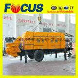 Disel a forcé la pompe concrète de remorque hydraulique, pompe concrète diesel portative