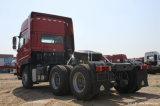 高性能の中国シャントウDeca Sitrak C7hの大型トラック4X2 400馬力トラクター(危険な輸送)