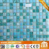 オーシャンブルーカラー組合せのサイズのプールのガラスモザイク(H455021)