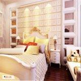Habitación Luxu 3D decorativo Panel de pared de cuero de PU