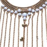 方法ネックレスボディは宝石類の女性のための長いふさボディ鎖のネックレスの宝石類を連鎖する
