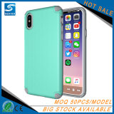 Tampa Shockproof ultra fina do telefone para o iPhone X