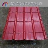 Stahl-PPGI gewelltes Stahlblech für Aufbau färben