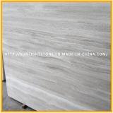 Мрамор Китая серый/белый деревянный вены для камня плитки пола/стены