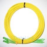 Sc pós-E2000 mm patch cord APC