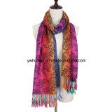 De jacquard Pashmina Paisley voelt de Sjaal van de Sjaal voor Vrouwen
