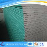 Placa de yeso Moistureproof /partición/placa de yeso del techo