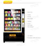 Moeda de alta qualidade e Bill operado Água Fria máquina de venda automática de bebidas com elevador