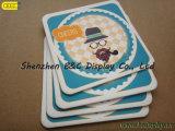 Espessura de papel absorvida alta qualidade do Coaster 2mm com impressão dobro da face 4c com GV (B&C-G097)