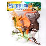 中国のプラスチック漫画の恐竜の方法おもちゃ