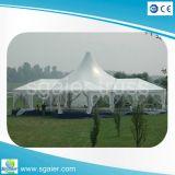 屋外の結婚式の写真撮影のテント党テント