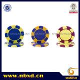13G 2-toon de Spaander van de Pook van het Ontwerp van het Casino van de Klei met de Sticker van de Douane