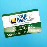 13.56MHz PVC 1K Smart Card classique de l'IDENTIFICATION RF sans contact MIFARE