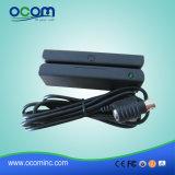 Lecteur de carte à rayures magnétiques USB Mini 3 Track MSR (CR1300)