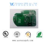 Alta qualidade PCBA para o módulo do GPS com máscara verde da solda