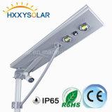 50W Bridgelux LED Solarstraßenlaternemit Kamera