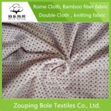 Pano de algodão bronzeador de prata para vestidos de tecidos