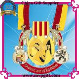 Aangepaste 3D Medaille met het Lint van Af:drukken voor de Medaille van de Marathon