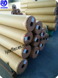 Fournisseur d'or chinois de film protecteur de PE pour la surface en métal d'acier inoxydable avec différentes couleurs par le matériau de première main