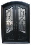 L'entrée personnalisée à l'extérieur de porte en fer forgé pour Villa de porte avant