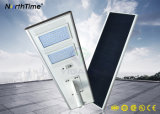 Sensor de movimento auto-sensível solar Sistemas inteligentes LED Street Lights 18W