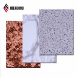 Front Desk polyester Stone Texture 4mm Aluminum Composite panel (AE-506)