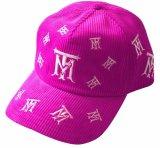Surtidor rosado del sombrero del casquillo del deporte de la pana