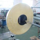 Sacchetto espresso del PE di plastica (posta) che fa macchina con lo spruzzatore della colla