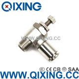 La spinta del metallo per connettere le componenti pneumatiche dei montaggi rapidamente connette i montaggi dell'aria