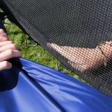 [17فت] مستديرة اللون الأزرق 6 ساق [ترمبولين] مع إحاطة شبكة
