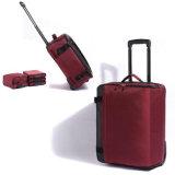 中国は赤い旅行トロリー荷物の柔らかい袋を製造した