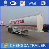 물, 우유 수송 3 차축 스테인리스 연료 탱크 트레일러
