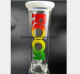 Tubo di acqua di vetro bianco per il riciclaggio filtrato ramoscello del tubo di acqua
