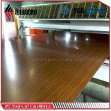 IDEABOND nuevo diseño de material compuesto de madera de la textura de aluminio (AE-304)