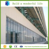 Il disegno della costruzione ha prefabbricato il magazzino della struttura d'acciaio di due storie