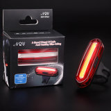 Rechargeable 150lm 2 Color 6 Mode Rear Bike Tail Light
