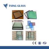 Effacer/Low-E//couleur du verre dépoli isolé pour la construction de verre creux