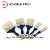 Деревянная щетка краски ручки (HYW0394)