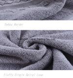 固体灰色の単一のループドビーの綿の浴室タオル