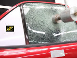Взрывозащищенный Vlt 90% безопасности Windows пленки автомобиль