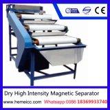 Separador magnético de intensidad alta seco del rodillo para el mineral no-metálico Products150n
