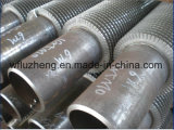 Acier inoxydable ou en acier au carbone à ailettes tuyau tube, Kl G Ll tube en aluminium en spirale fin