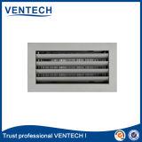 HVACシステムのための蝶番を付けられたタイプリターン空気グリル