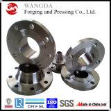 Brides modifiées d'acier (WN) du carbone de collet de soudure